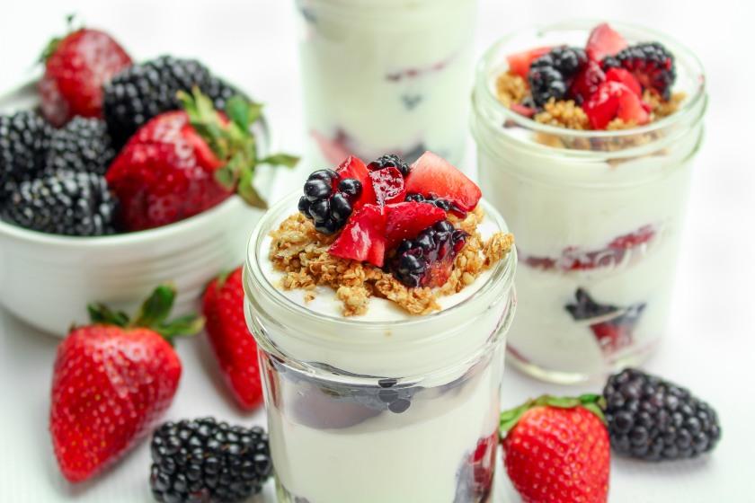 Gluten Free Yogurt Parfaits