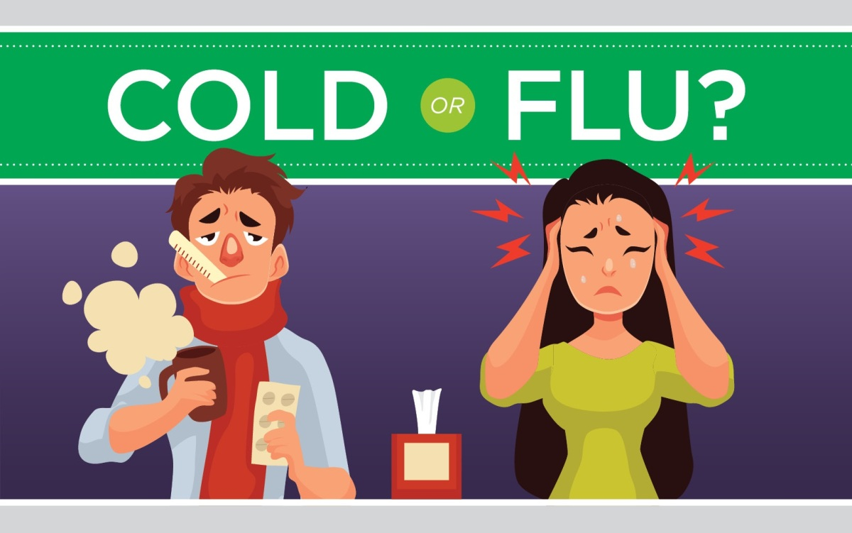 Is It a Cold or the Flu? (Infographic)